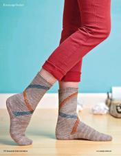 Strickanleitung Our Paths Cross Socks Fantastische Socken Strickideen 0416