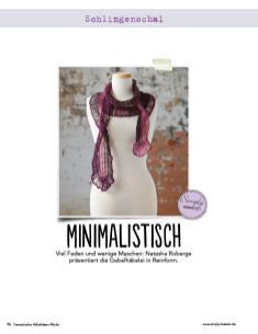 Häkelanleitung: Roter Schal – Fantastische Häkel-Mode-Ideen 03/2016