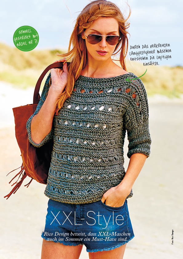 Strickanleitung Rico Lovewool – Simply Stricken – 04/2016