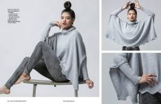 Strickanleitung Mofu Poncho Street Style Simply Kreativ Strick Mode 0117