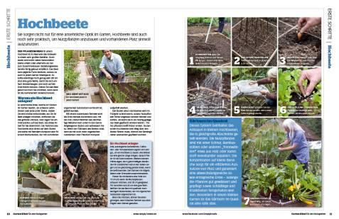 Gartentipp: Hochbeete anbauen