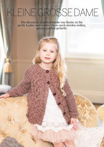 Strickanleitung Kinder Cardigan Simply Stricken 0616