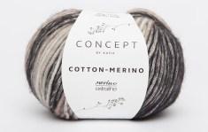 Katia-Concept-CottonMerinoPlus-Dunkelgrau-Mittelgrau