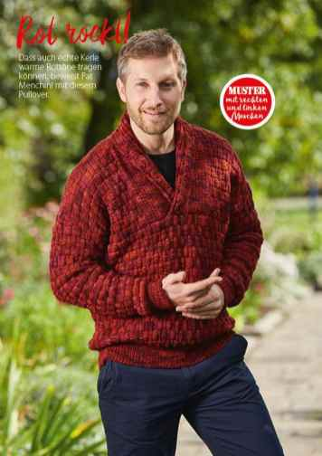 Strickanleitung Herrenpullover Simply Stricken 0217