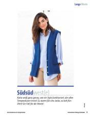 Strickanleitung - Katia blaue Weste - Fantastische Frühlings-Strickideen - 0218