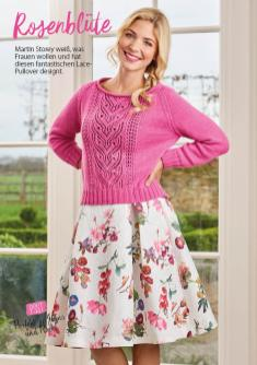 Strickanleitung Rosa Lace Pullover Simply Stricken 0417