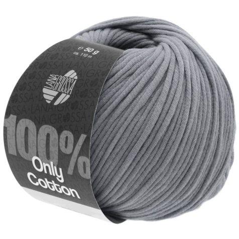 Lana Grossa Only Cotton Farbe Dunkelgrau