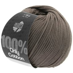 Lana Grossa Only Cotton Farbe Graubraun