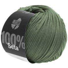 Lana Grossa Seta Farbe Graugrün