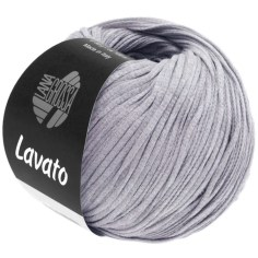 Lana Grossa Lavato Farbe 16 Lila meliert