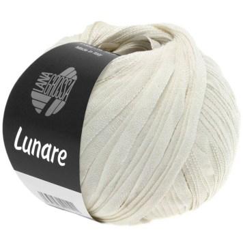 Lana Grossa Lunare Farbe 1 Rohweiß