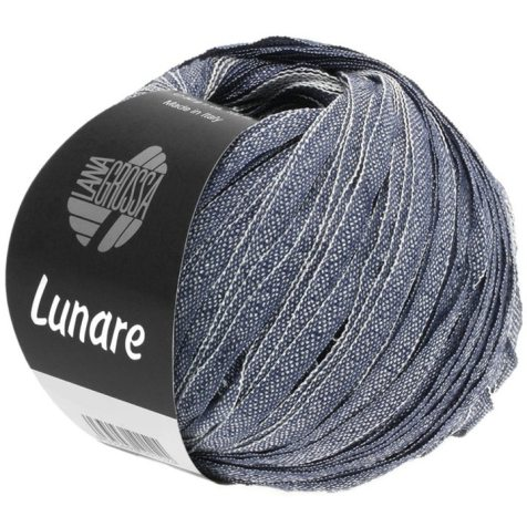 Lana Grossa Lunare Farbe 11 Dunkelblau