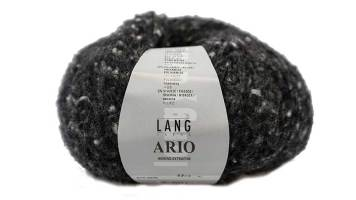 Lang Yarns, Ario, schwarz-weiß stricken