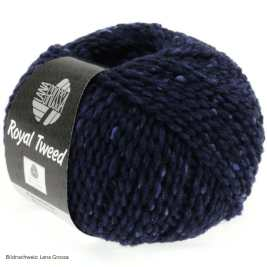 Lana Grossa, Royal Tweed, 11 Marine meliert
