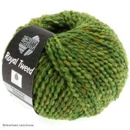 Lana Grossa, Royal Tweed, 52 Hellgrün meliert