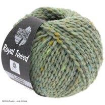 Lana Grossa, Royal Tweed, 83 Mint meliert