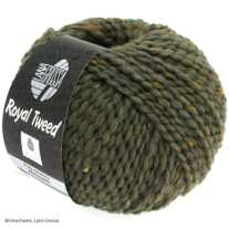 Lana Grossa, Royal Tweed, 84 Schlamm meliert