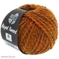 Lana Grossa, Royal Tweed, 86 Goldbraun meliert