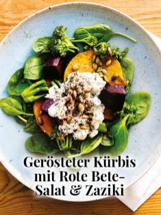 Simply kreativ - Gerösteter Kürbis mit Rote Bete-Salat und Zaziki - Hüttenzauber Rezepte für den Thermomix - 0118