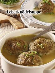 Simply kreativ - Leberknödelsuppe - Hüttenzauber Rezepte für den Thermomix - 0118