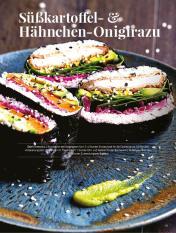 Simply kreativ - Süßkartoffel- und Hähnchen-Onigirazu - Hüttenzauber Rezepte für den Thermomix - 0118