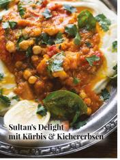 Simply kreativ - Sultan's Delight mit Kürbis und Kichererbsen - Hüttenzauber Rezepte für den Thermomix - 0118