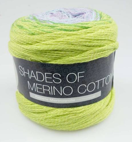 Lana Grossa Shades of Merino Cotton Degradé Farbverlaufsgarn