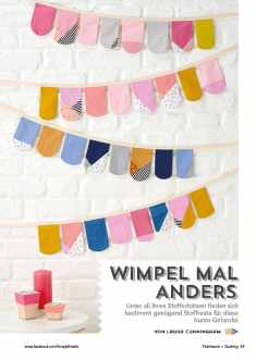 Simply Kreativ - Patchwork - Wimpel mal anders - 0218