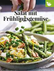 Simply kreativ - Salat mit Frühlingsgemüse - Neue Rezepte für den Thermomix - 0218