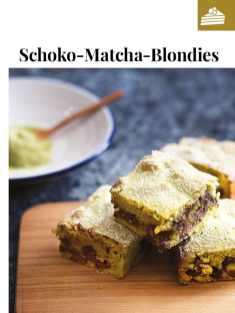 Simply kreativ - Schoko-Matcha-Blondies - Neue Rezepte für den Thermomix - 0218
