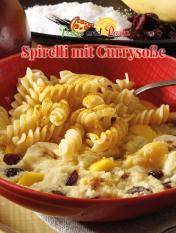 Simply kreativ - Spirelli mit Currysosse - Neue Rezepte für den Thermomix - 0218