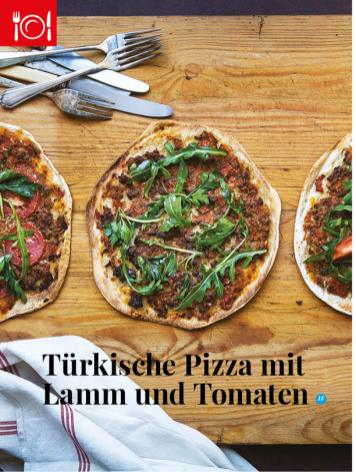 Simply kreativ - Türkische Pizza - Neue Rezepte für den Thermomix - 0218