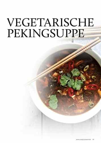 Gesund und fix - Kochen mit dem Thermomix - Vegetarische Pekingsuppe 0218
