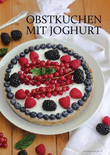 Gesund und fix - Kochen mit dem Thermomix - Obstkuchen mit Joghurt 0218