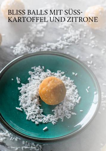 Gesund und fix - Kochen mit dem Thermomix - Bliss Balls mit Süßkartoffel und Zitrone 0218