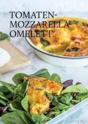 Gesund und fix - Tomaten-Mozzarella-Omelett 0218