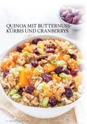 Gesund und fix - Kochen mit dem Thermomix - Quinoa mit Butternuss-Kürbis und Cranberries 0218