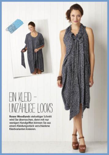 Nähanleitung - Kleid - Simply Nähen - 0218
