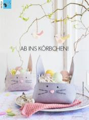 Bastelanleitung - Ab ins Körbchen! - Simply Kreativ Heft 02/2019