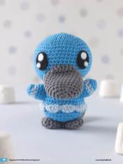 Häkelanleitung Alois Mini Monster Amigurumi Vol20