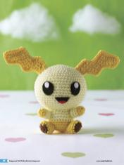 Häkelanleitung Fridolin Mini Monster Amigurumi Vol20