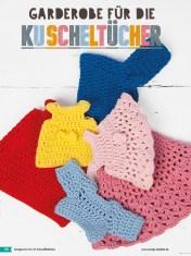 Häkelanleitung - Garderobe für die Kuscheltücher - Fantastische Häkelideen - Amigurumi Vol. 21