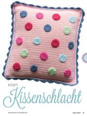 Häkelanleitung - Kissenschlacht - Kissen - Happy Häkeln 01/2018