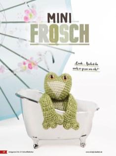 Häkelanleitung - Mini-Frosch - Fantastische Häkelideen - Amigurumi Vol. 21