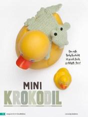 Häkelanleitung - Mini-Krokodil - Fantastische Häkelideen - Amigurumi Vol. 21