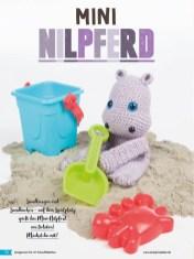 Häkelanleitung - Mini-Nilpferd - Fantastische Häkelideen - Amigurumi Vol. 21