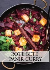Rezept - Rote-Beete-Panir-Curry - Gesund & fix kochen mit dem Thermomix® 03/2018