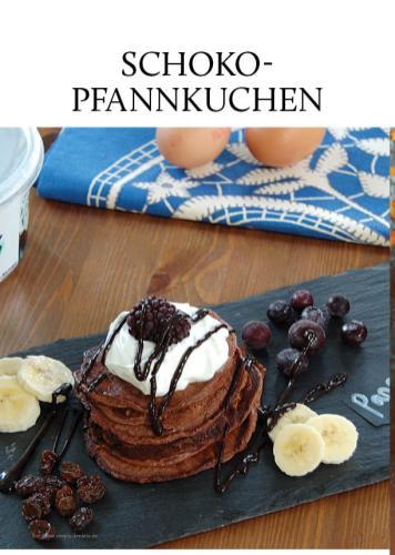 Rezept - Schoko-Pfannkuchen - Gesund & fix kochen mit dem Thermomix® 03/2018
