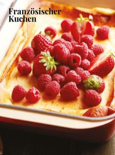 Rezept - Französischer Kuchen - Simply Kreativ – Neue Rezepte für den Thermomix® 03/18
