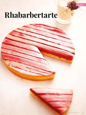 Rezept - Rhabarbertarte - Simply Kreativ – Neue Rezepte für den Thermomix® 03/18